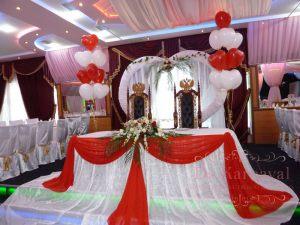 Декор свадеб в малиновом цвете дешево