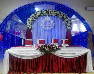 Декор свадеб в цвете марсала оригинально