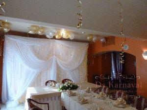 Оформление свадьбы в молочном цвете недорого