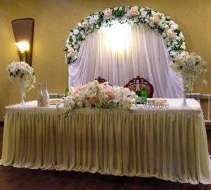 Декор на свадьбу в молочном цвете недорого