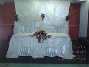 Украшение свадеб в молочном цвете фото