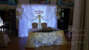Декор свадеб в молочном цвете фото
