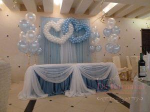 Оформление на свадьбу в морском цвете недорого