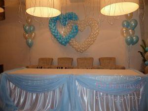 Декор на свадьбу в морском цвете дешево