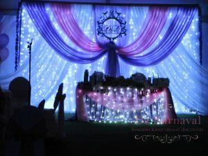 Украшение свадеб в морском цвете фото