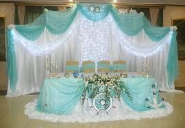 Украшение на свадьбу в морском цвете цены