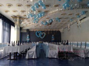 Оформление свадьбы в морском цвете недорого