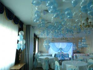 Украшение свадьбы в морском цвете недорого в Москве