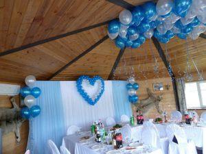 Оформление свадеб в морском цвете фото