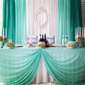 Украшение свадеб в мятном цвете дешево
