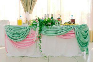 Декор на свадьбу в мятном цвете цены