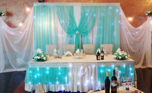 Украшение свадеб в мятном цвете фото