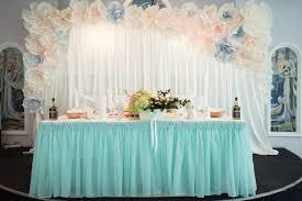 Оформление свадьбы в мятном цвете недорого
