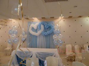 Оформление свадеб в небесном цвете недорого в Москве