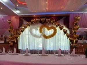Декор на свадьбу в необычном цвете дешево