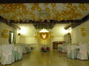 Оформление на свадьбу в необычном цвете дешево