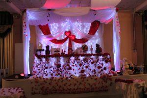 Украшение свадеб в необычном цвете недорого цены