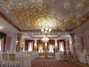 Декор на свадьбу в необычном цвете недорого