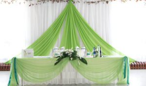 Оформление свадеб в оливковом цвете недорого