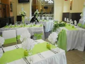 Украшение свадьбы в оливковом цвете фото