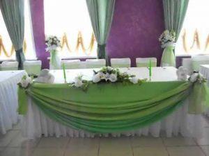 Оформление свадеб в оливковом цвете фото