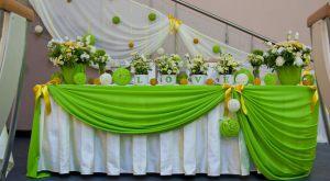 Украшение свадеб в оливковом цвете оригинально