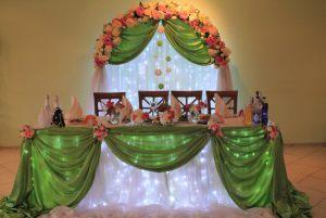 Декор на свадьбу в оливковом цвете в Москве