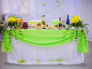 Украшение на свадьбу в оливковом цвете недорого в Москве