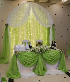 Декор на свадьбу в оливковом цвете цены