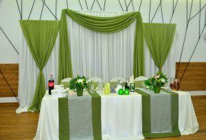 Декор свадеб в оливковом цвете недорого в Москве