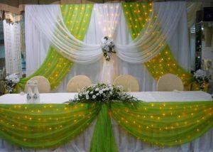 Украшение на свадьбу в оливковом цвете красиво