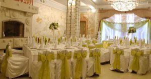 Украшение свадьбы в оливковом цвете недорого в Москве