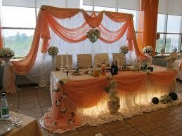 Оформление свадеб в оранжевом цвете недорого
