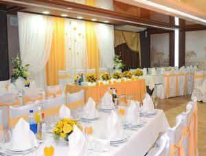 Декор свадьбы в оранжевом цвете недорого цены