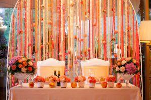 Оформление свадеб в оранжевом цвете фото и цены