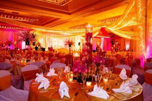 Декор на свадьбу в оранжевом цвете цены