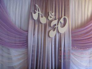Украшение свадеб в цвете орхидеи недорого