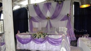 Украшение на свадьбу в цвете орхидеи дешево