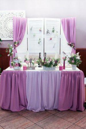 Украшение свадьбы в цвете орхидеи цены