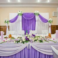 Декор на свадьбу в цвете орхидеи фото