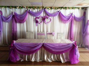 Оформление свадьбы в цвете орхидеи оригинально