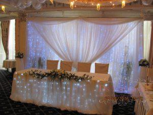 Декор на свадьбу в пастельных цветах красиво