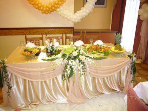 Украшение свадьбы в пастельных цветах красиво