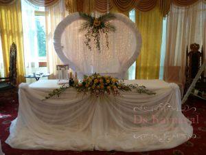 Украшение свадьбы в пастельных цветах оригинально
