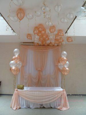 Украшение на свадьбу в пастельных цветах цены