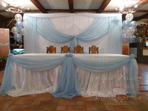 Украшение на свадьбу в пастельных цветах красиво