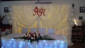 Украшение свадеб в пастельных цветах оригинально