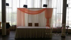 Оформление на свадьбу в пастельных цветах дешево