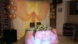 Оформление на свадьбу в пастельных цветах недорого