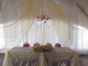 Украшение на свадьбу в пастельных цветах недорого